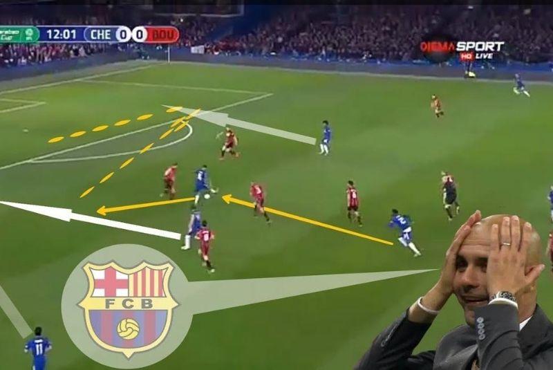 chiến thuật Tiqui taca của Barcelona
