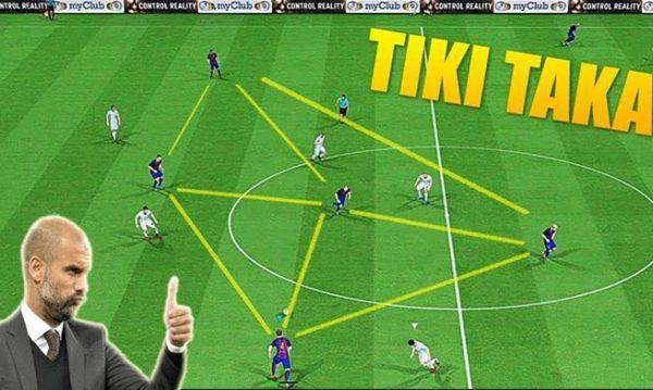 Tiki taka trong bóng đá là gì